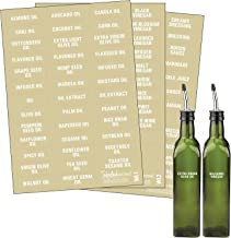 Talented Kitchen 114 White Oils, Vinegars & Liquids Label System: 114 Names of Oils, Vinegars, Sauces Syrups & Blank Label...
