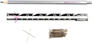 SINGER 07350 Measure Mark and More - Sewing Gauge, 50 Straight Pins, and Fabric Marking Pencil