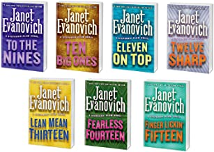 Janet Evanovich ~ A Stephanie Plum Novel Series ~ 7 Book Bundle # 9-15 Hard Cover