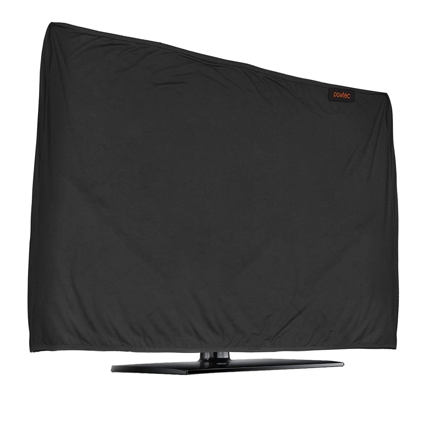 Lightweight Flat Screen TV Cover - Full Body Stretchable Lycra Protection Sleeve - Fits 47-50