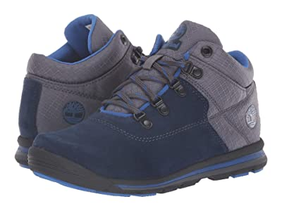 Timberland Kids GT Rally Mid (Big Kid) (Navy Suede/Fabric) Kids Shoes