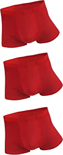 Men's Sexy Low Rise Ice Silk Boxer Briefs Underwear Smooth Super Thin Breathable Basic