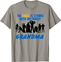 Star Wars The Force Matching Family GRANDMA T-Shirt