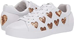 Nappa Calf White/Sequences Gold