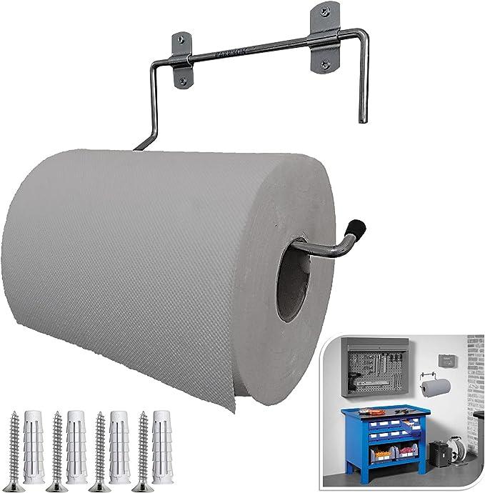 15 opinioni per Parpyon® Portarotolo industriale a muro parete porta asciugamani bagno per