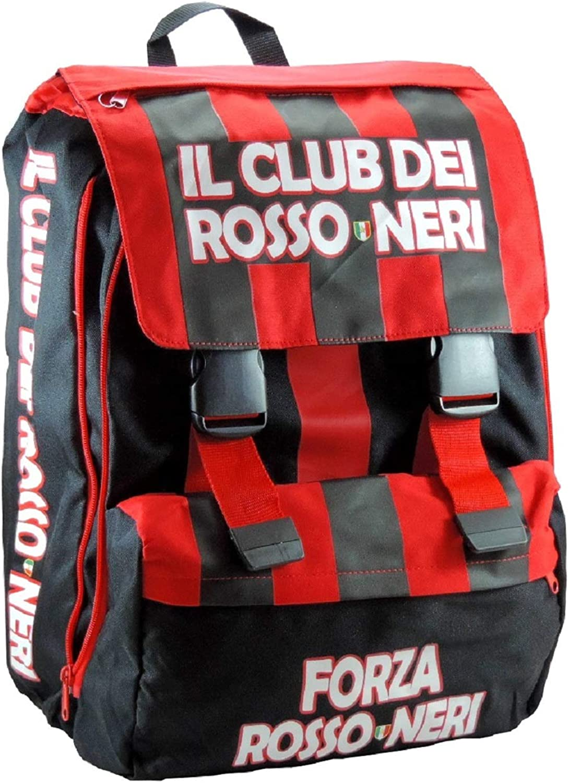 Forza rot Neri, Kinderrucksack Schwarz und rot