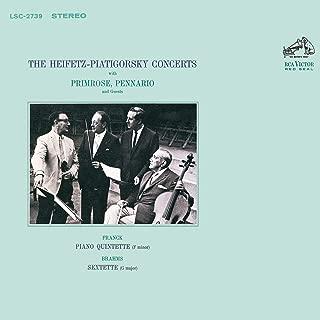 Franck: Piano Quintet in F Minor, M. 7, FWV 7 & Brahms: String Sextet No. 2 in G Major, Op. 36