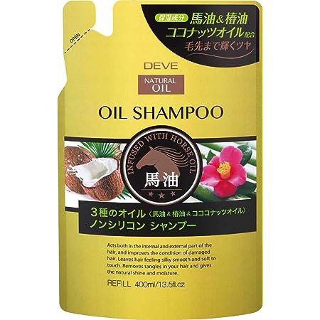 熊野油脂 ディブ 3種のオイルシャンプー(馬油・椿油・ココナッツオイル)400ml