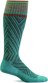 Sockwell Women's Labyrinth Moderate Graduated Compression Sock