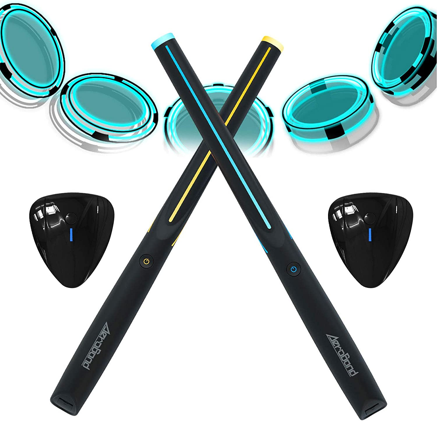 AEROBAND Air Drum Sticks Set Drums Financial Super Special SALE held sales sale 4 Electronic Mode Bluetooth