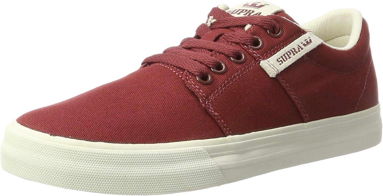 Supra Men's Stacks Vulc II Brick Red Bone Athletic shoes
