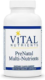 Vital Nutrients - PreNatal Multi-Nutrients - Women's Multi-Vitamin/Mineral Formula with Potent Antioxidants - 180 Vegetari...
