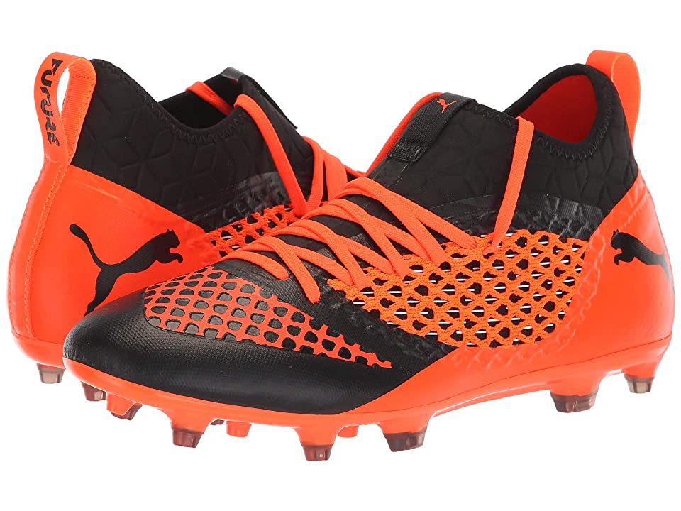 PUMA Future 2.3 Netfit FG/AG (Puma Black/Shocking Orange) Men