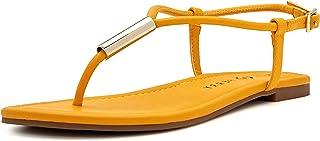 Katy Perry Women's The Jule Flat Sandal, Spritz, 6.5