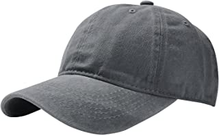Unisex Washed Twill Cotton Baseball Cap Vintage Adjustable Hat