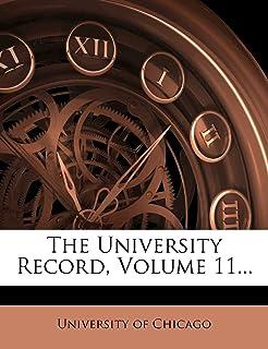 The University Record, Volume 11...