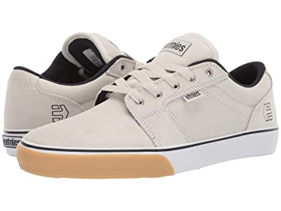 etnies Barge LS (White/Navy/Gum) Men
