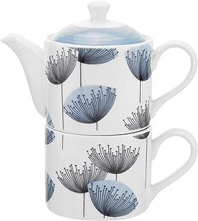 Portmeirion Sanderson Dandelion Clocks Tea For One