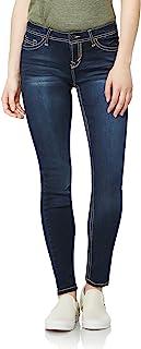 "WallFlower Women's Juniors Irresistible Denim Jegging Jeans (28-30-32"" Inseam)"