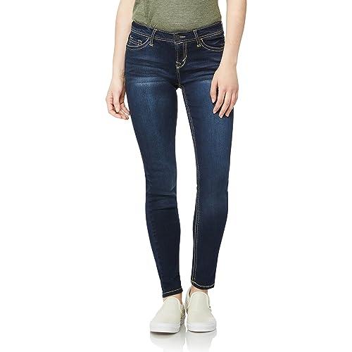 297560c4e7136 WallFlower Women's Juniors Irresistible Denim Jegging Jeans (28-30-32