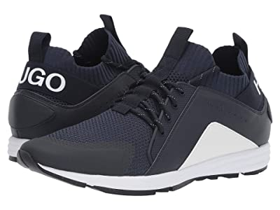 BOSS Hugo Boss Hybrid Mesh Sneaker by HUGO (Navy) Men