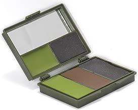 Nitehawk 5 Colour Face Paint Set with Mirror Camo Camouflage Cream GI Army Military