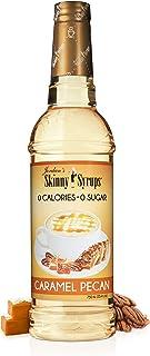 Jordan's Skinny Syrups |  Sugar Free Caramel Pecan  Syrup | Healthy Flavors with 0 Calories, 0 Sugar, 0 Carbs | 750ml/25.4oz Bottle