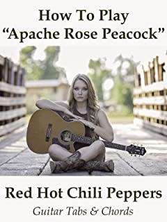 How To Play Apache Rose Peacock By Red Hot Chili Peppers - Guitar Tabs & Chords