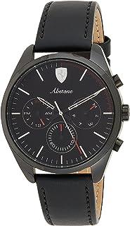Ferrari Mens Quartz Watch, Chronograph Display and Leather Strap 830503