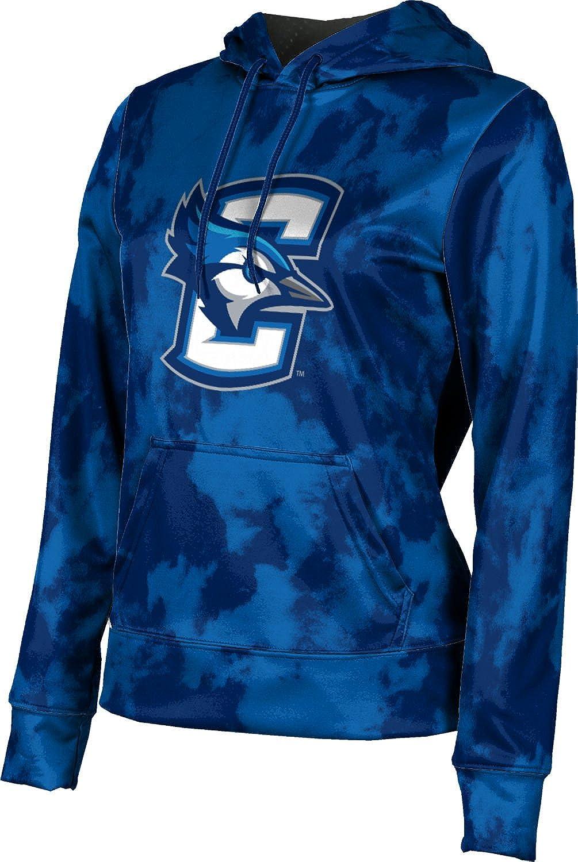 ProSphere Creighton University Girls' Pullover Hoodie, School Spirit Sweatshirt (Grunge)