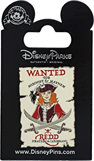 Disney Pin - Pirates of the Caribbean - Wanted Poster - Redd