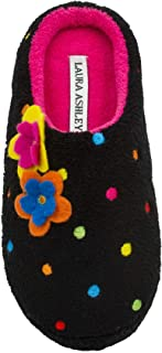 Laura Ashley Little Girls Multi Colored Embroidered Dot Terry Clog (See More Colors and Sizes)