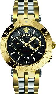 Versace - VEBV00519 V-Race Heren horloge chronograaf 46 mm