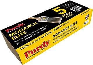 Purdy XL Monarch Elite Synthetic Bristle Paint Brush Set MON5 1x1