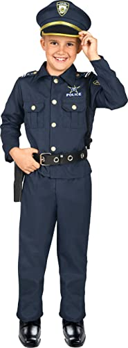 Kangaroo's Deluxe Boys Police Costume for Kids