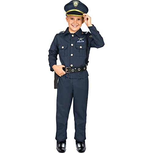Police Officer Kids Cop Hat Child Costume Accessory