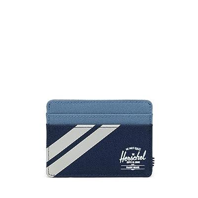 Herschel Supply Co. Charlie RFID (Peacoat/Blue Mirage/Pelican) Wallet Handbags