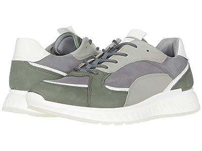 ECCO ST1 Trend Sneaker (Lake/White/Titanium/Wild Dove) Men