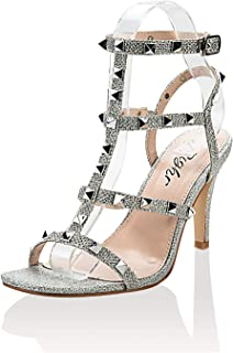 RIGHR Women's Fashion Stiletto High Heel Sandal Pump Shoe