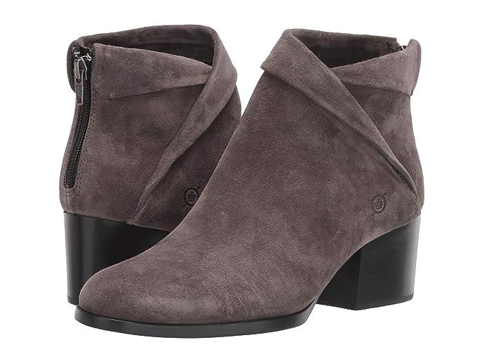 Born  Abbe (Dark Grey Suede) Womens  Boots