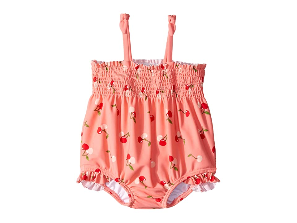 Janie and Jack Smocked One-Piece Swimsuit (Infant) (Multi) Girl