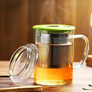 Best tea glass with filter Reviews