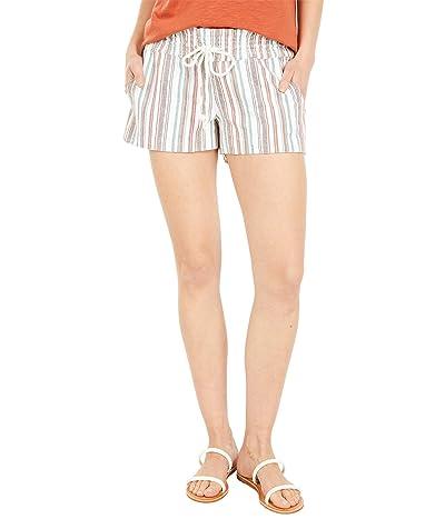 Roxy Oceanside YD Multi Shorts (Auburn Beachside Stripe) Women