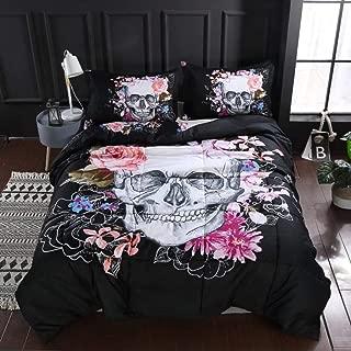 Best skull comforter queen size Reviews