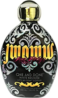 Jwoww One and Done, White Bronzer, With Ink Drink Complex Tanning Lotion 13.5 Ounce