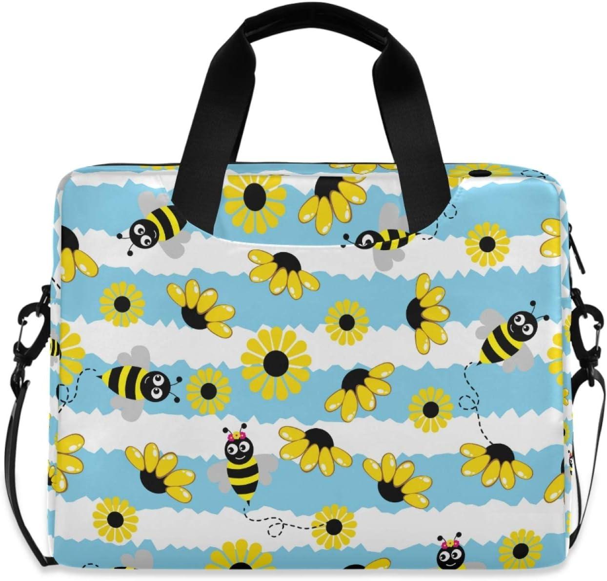Hupery Bee Flowers Laptop Messenger Bargain Shoulder Bag Super Special SALE held Bags Com