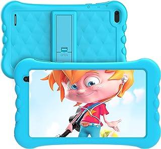 Kids Tablet 7 inch, Android 10.0,1GB RAM 16GB ROM, HAOQIN Haokids E7, Quad core, HD Display, Dual Camera, Kids Software Pr...