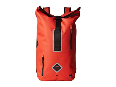 KNOMO London 15 Commuter Water-Resistant Backpack (Flash Orange) Backpack Bags