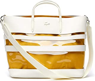 Lacoste Women's Leather Transparent Tote
