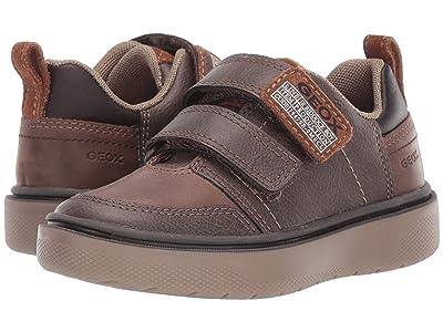 Geox Kids Jr Riddock 9 (Toddler) (Medium Brown) Boy